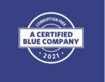 Blue Blue company Logo 2021